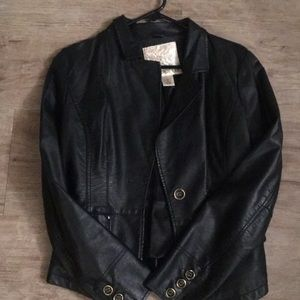 Leather Arden B jacket